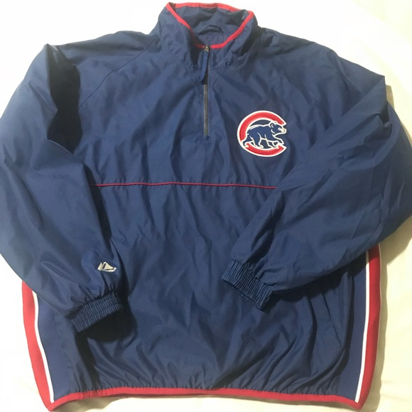 ab49db4175e Majestic Other - ⚡️Sale⚡️Majestic Chicago Cubs Pullover Jacket